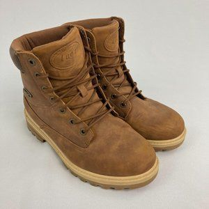 Lugz Empire Water Slip Resistant Tan Boots Size 10